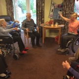 Yoga for fitness at Riversway Nursing Home