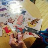 Paper doll memories